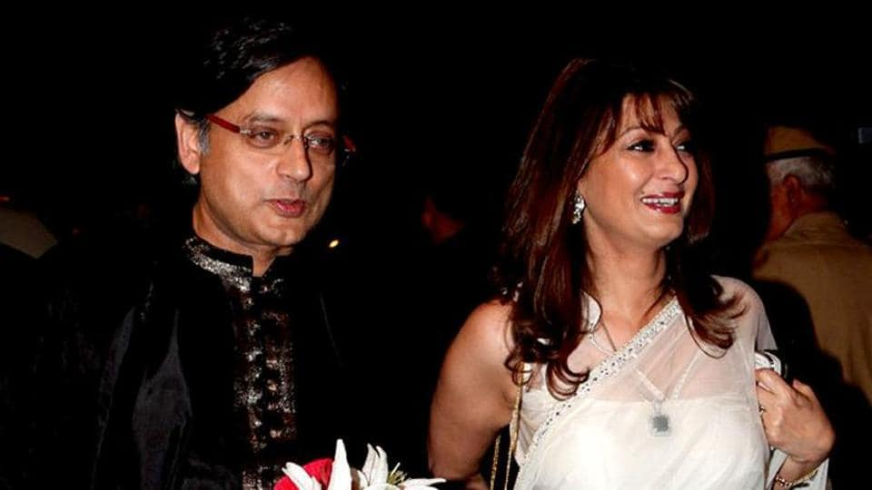 Congress leader Shashi Tharoor's wife Sunanda Pushkar was found dead in a south Delhi  hotel in January 17, 2014.