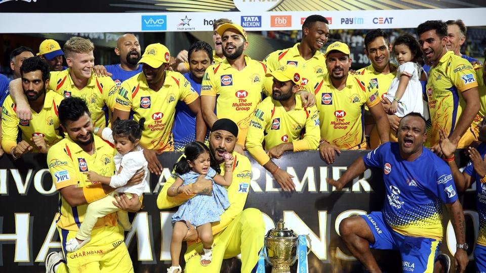 Chennai Super Kings clinched their 3rd IPL title. (Photo Source - IANS)
