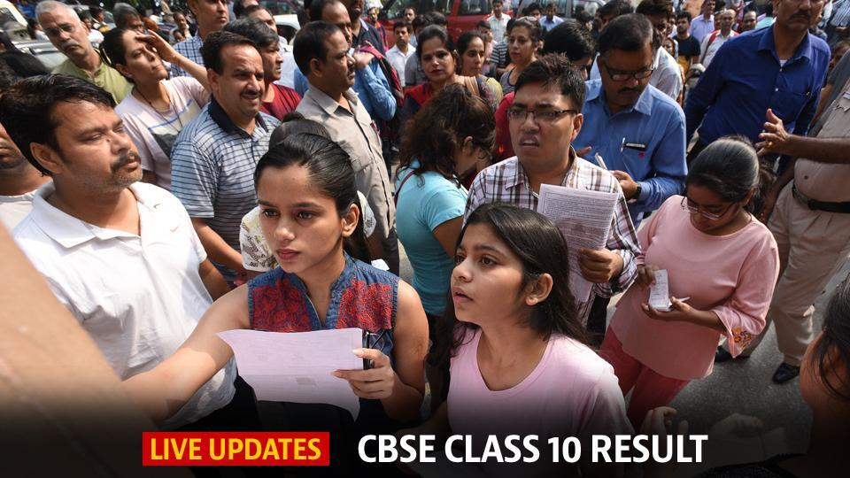 CBSE 10th result 2018 DECLARED: Highlights | education | Hindustan Times