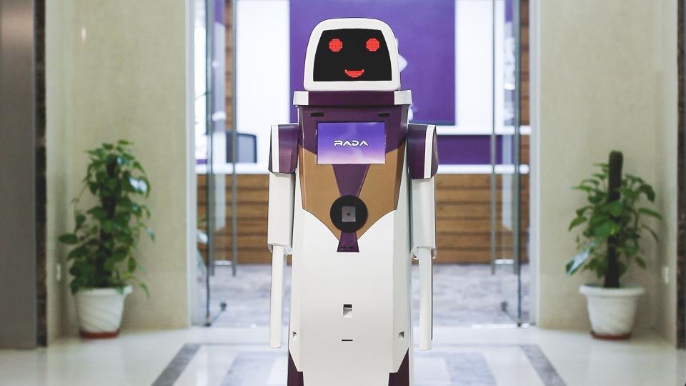 Rada Robot,Vistara Rada Robot,Robotics India