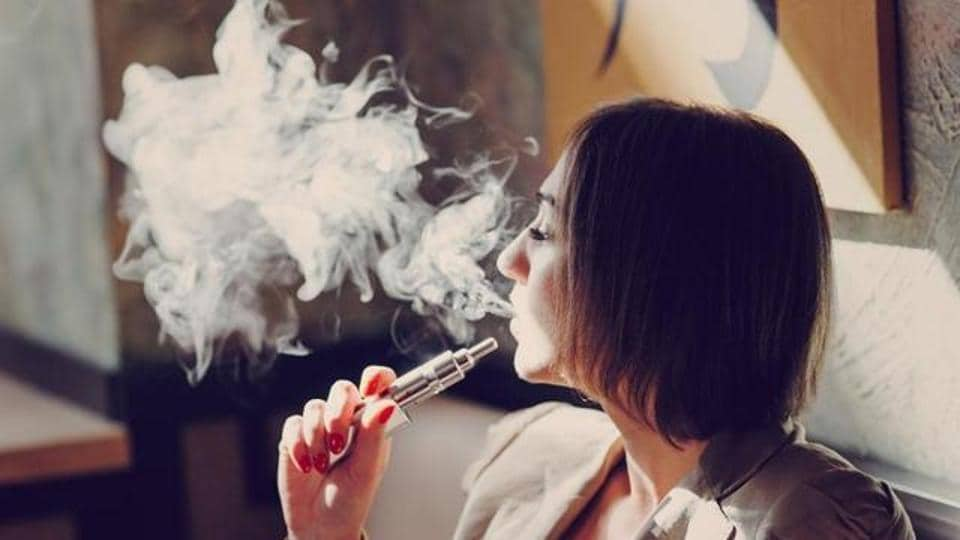 E-cigarette flavouring has toxic chemicals similar to those found in tobacco smoke.