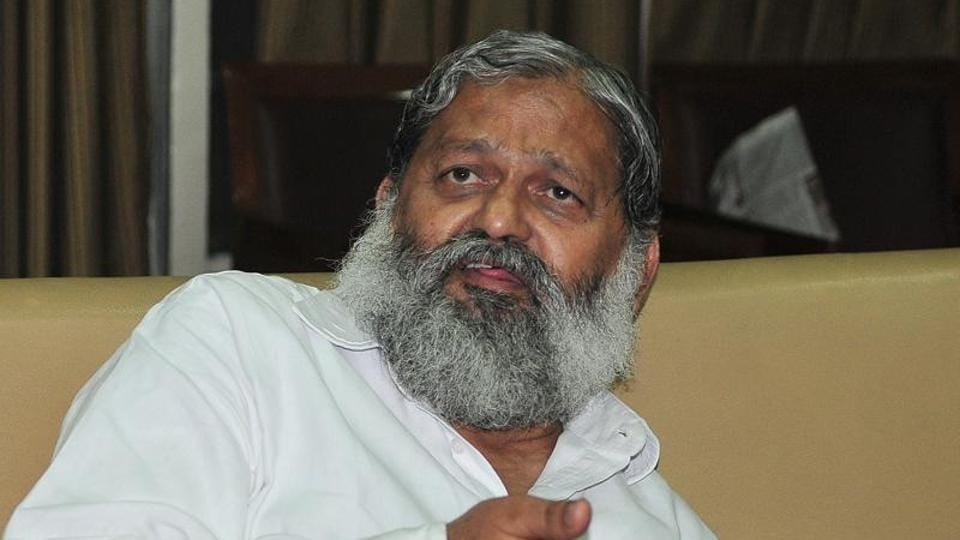 Haryana health minister Anil Vij had in the past said that those who were supporting Delhi University student Gurmehar Kaur for her campaign against the ABVP, were pro-Pakistan and should be thrown out of the country.