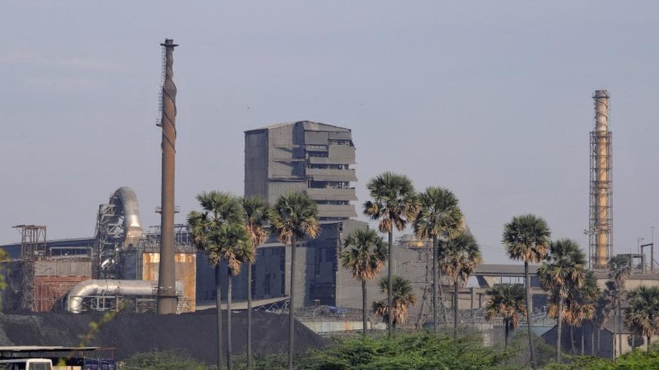 A general view shows Sterlite copper plant in Tuticorin, Tamil Nadu.