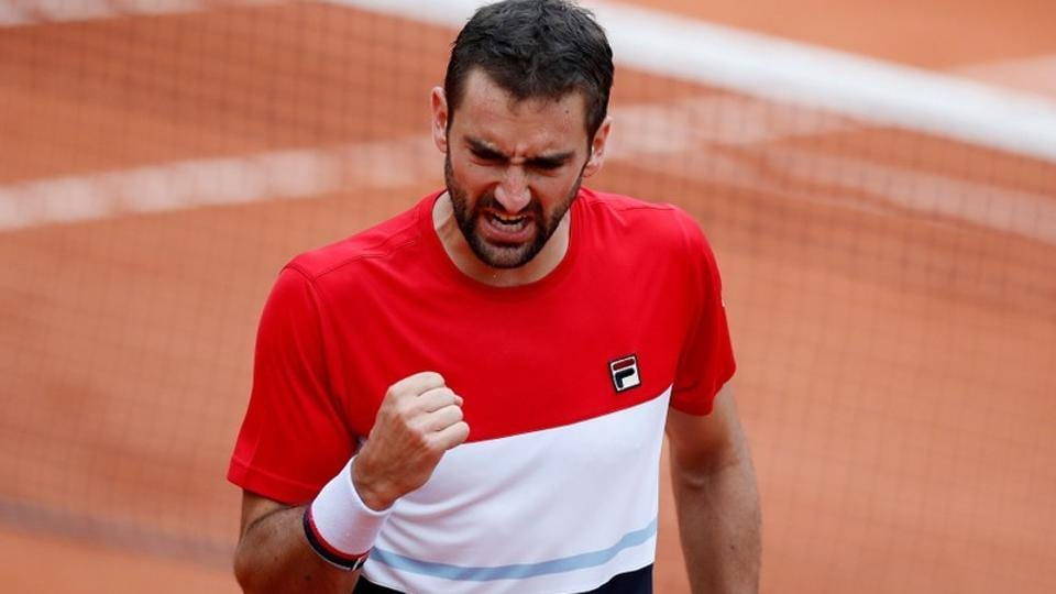 Image result for marin cilic french open 2018