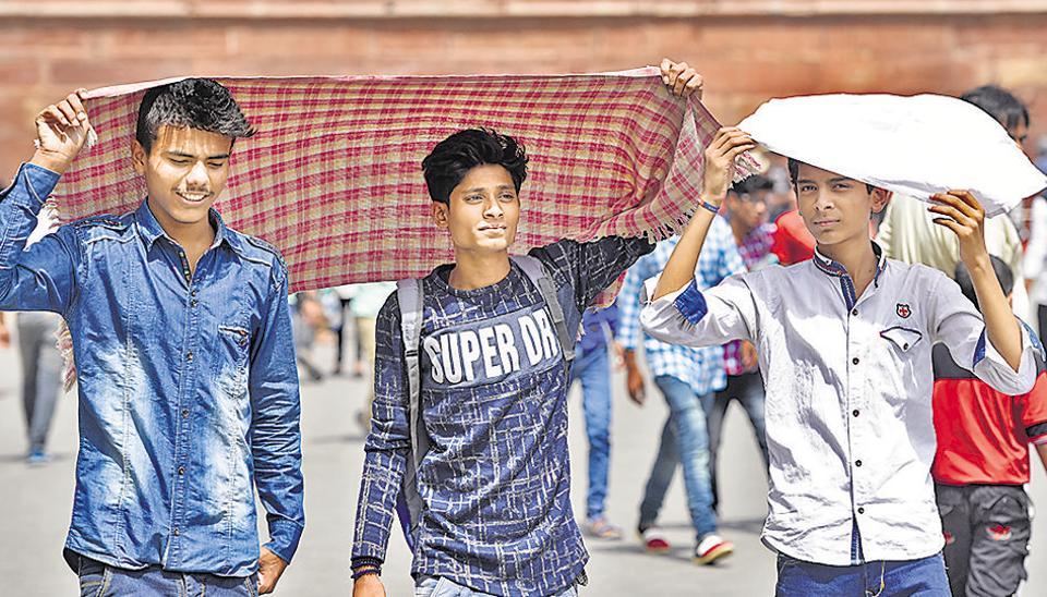Delhi weather,heatwave,Delhi heat