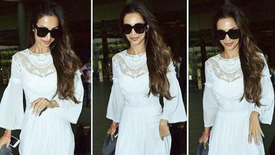 With every new outfit, we've been more and more in awe of Malaika Arora's style.  (Instagram)