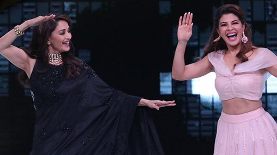 Madhuri Dixit,Salman Khan,Jacqueline Fernandez