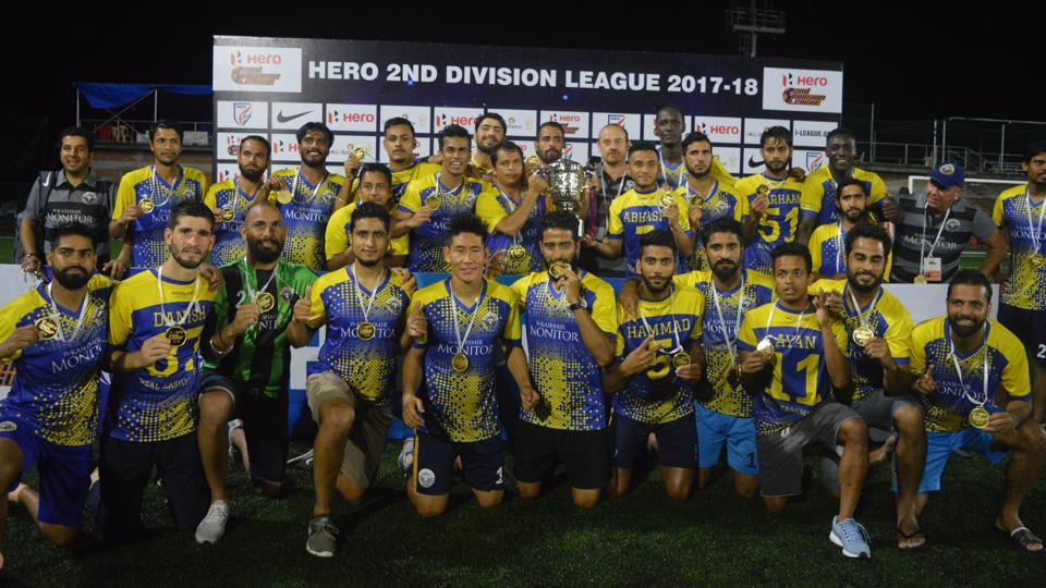 Real Kashmir FC beat Hindustan FC to gain promotion to I-League on Wednesday.