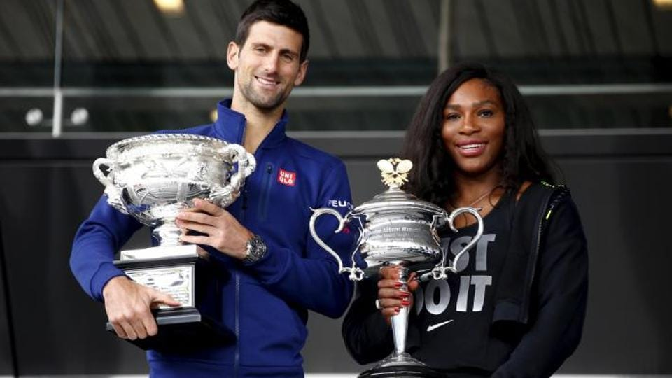Serena Williams,Novak Djokovic,French Open