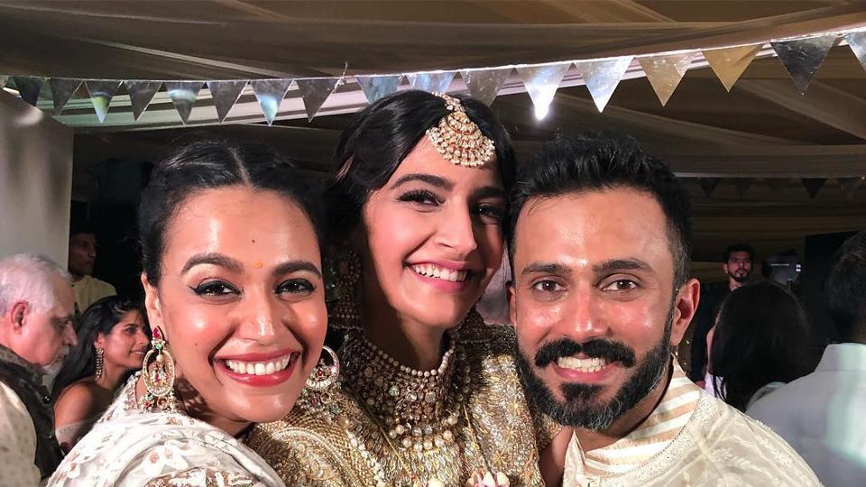 Sonam Kapoor,Swara Bhaskar,Sonam Kapoor Wedding