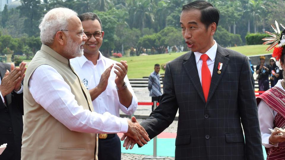 Modi in Indonesia,India Indonesia,Joko Widodo