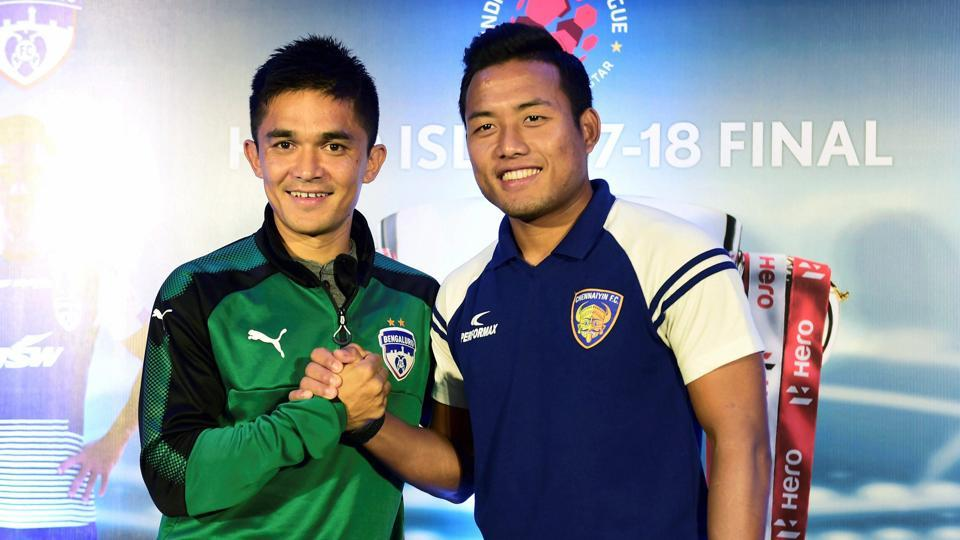 Sunil Chhetri,Jeje Lalpekhlua,India Football team