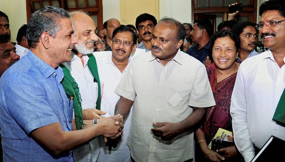 Recently, Karnataka CM Kumaraswamy's remarks that he was at the mercy of Congress and not the people had earned him flak.