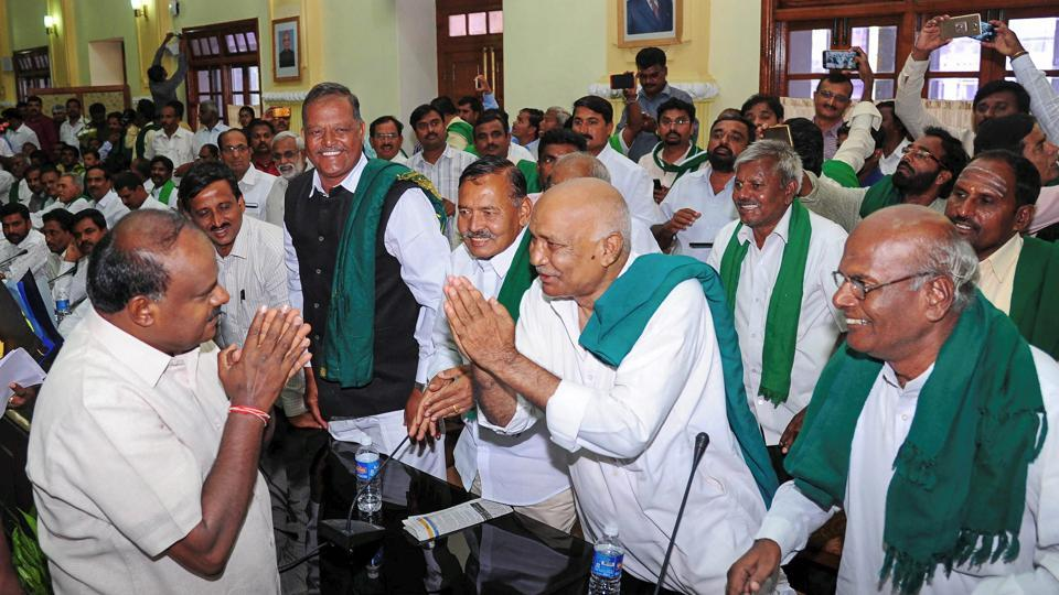 After meeting farmers groups representatives on Wednesday, Karnataka CM Kumaraswamy said he would take up the matter with Congress president Rahul Gandhi.