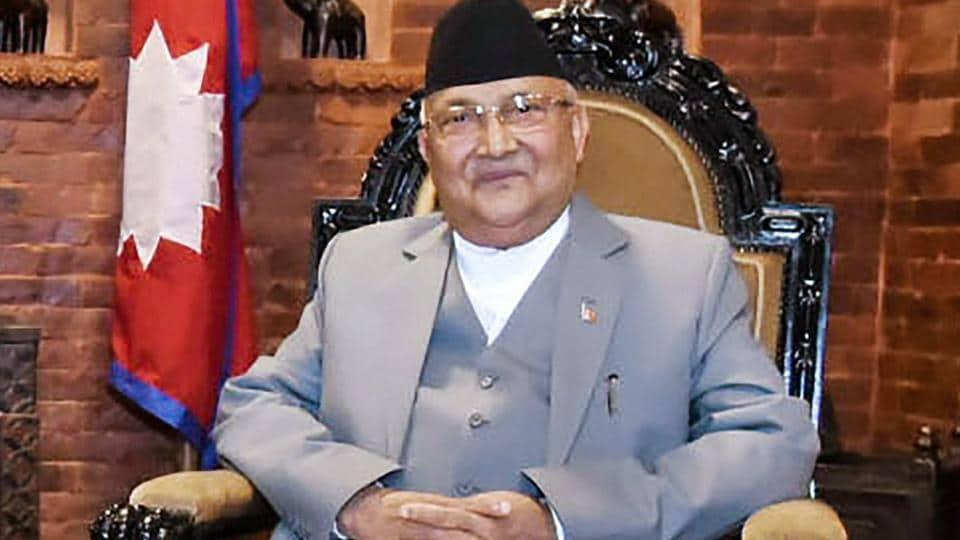 Nepal PM,KP Sharma Oli,Laptop use