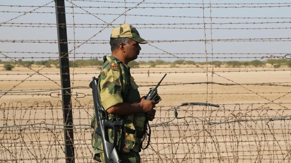 Pakistani man,Indian border,BSF