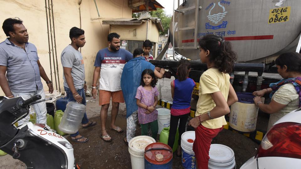 Delhi,Water crisis,Haryana