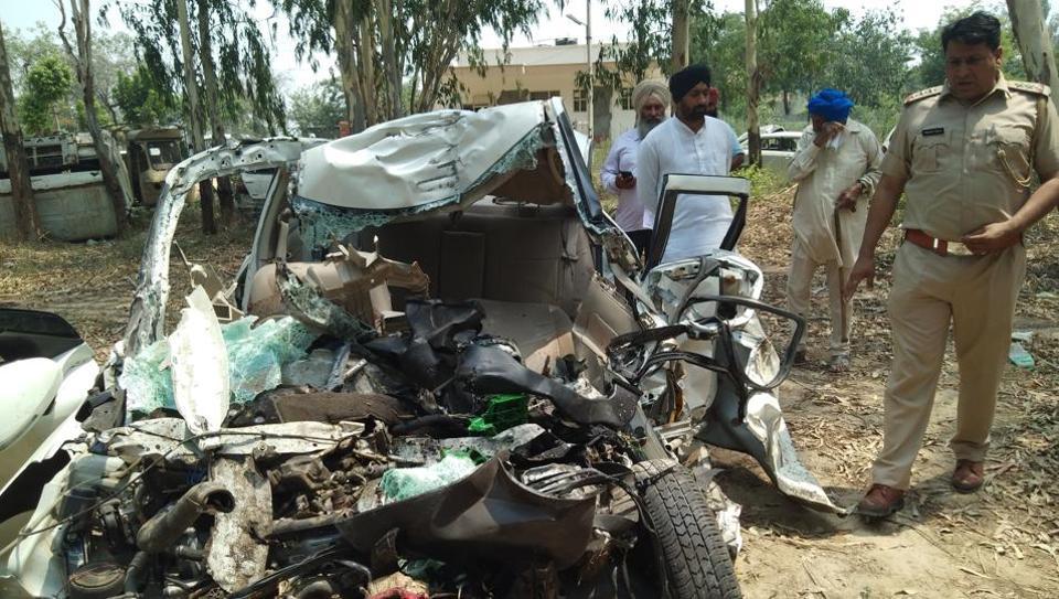 road accident,karnal,road mishap