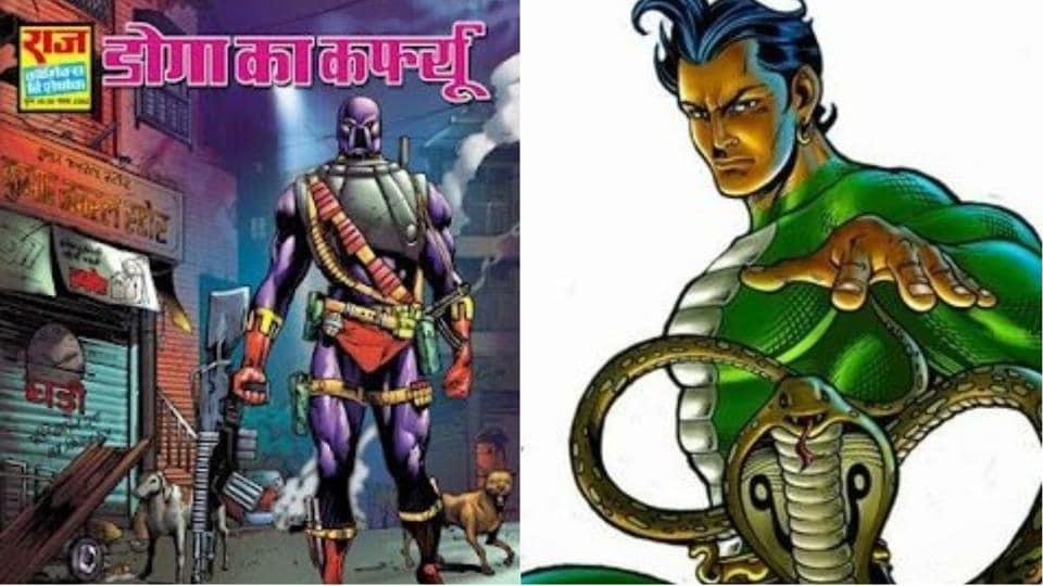 Bhavesh Joshi Superhero,Nagraj,Super Commando Dhruv