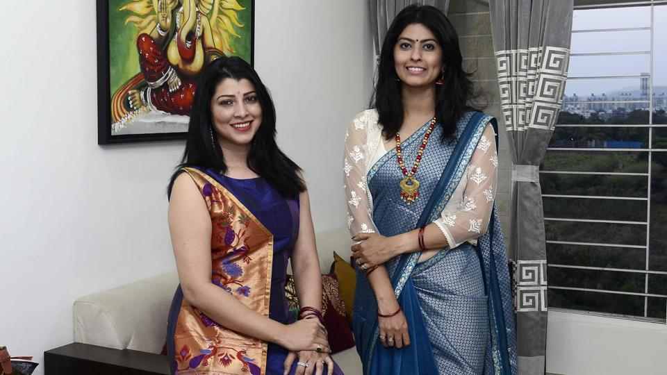 Actors Tejaswini Pandit and Abhidnya Bhave will be hosting an exhibition of their brand Tejadnya in the city.