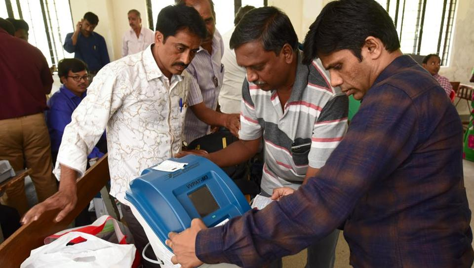 The election commission had to order repoll in 49 polling stations across five assembly segments in Bhandara-Gondiya and 74 booths in Kairana due to VVPAT failure.