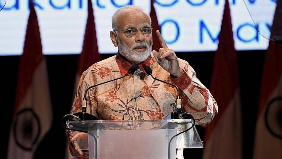 PM Narendra Modi, who is on a three-nation tour to South-East Asia, will visit Singapore on Thursday.