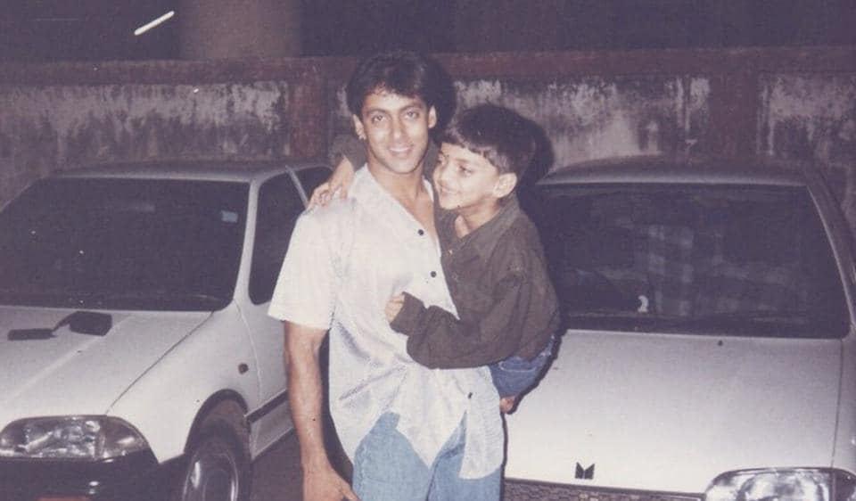 Salman Khan shared an old picture and announced that a new star will be launched on Thursday.