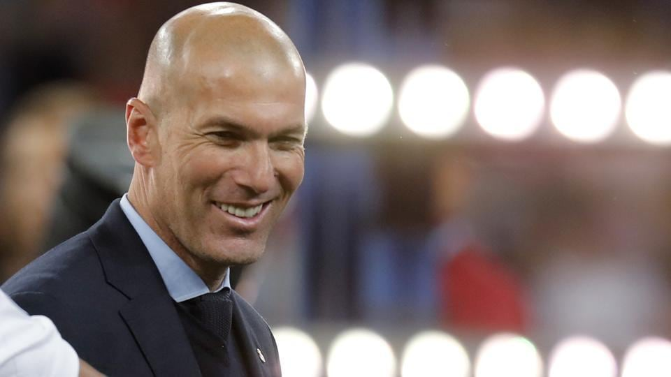 Zinedine Zidane claimed an unprecedented third consecutive Champions League title when Real beat Liverpool 3-1 on Saturday