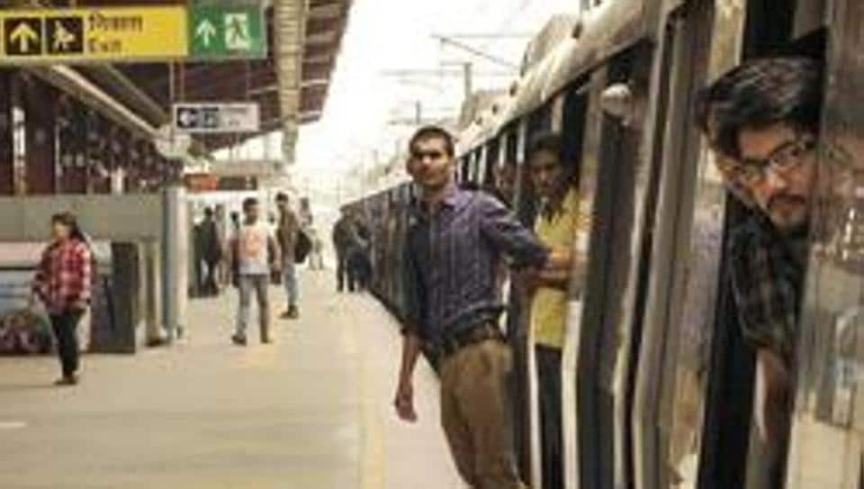 A section of the Delhi Metro's Blue Line has been affected after agitating workers began assembling at the Dwarka station.