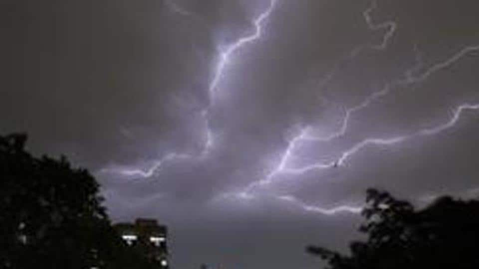 Thunderstorms,India Meteorological Department,IMD