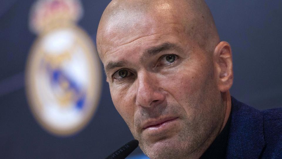 Zinedine Zidane managed Real Madrid for 145 games.