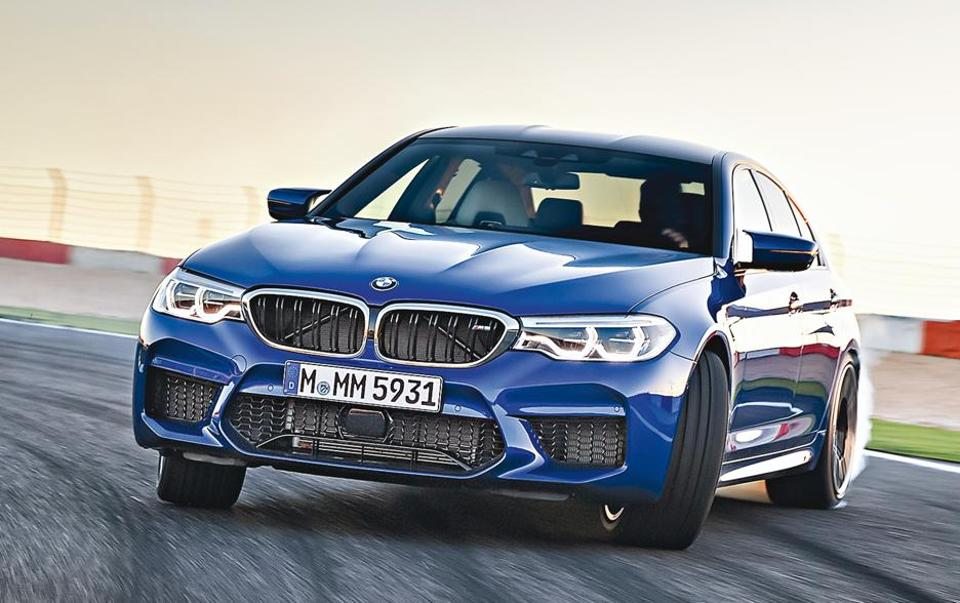 This super sedan, which pumps out a titanic 600hp from its big V8 motor is the most powerful BMW you can buy