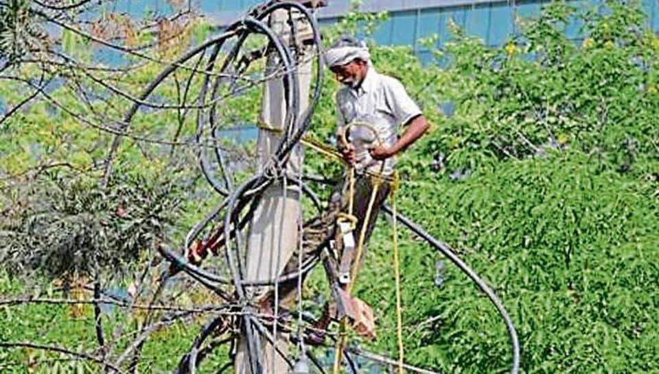Gurugram outages are due to supply shortage, poor infrastructure and undeclared additional load on line , say officials.