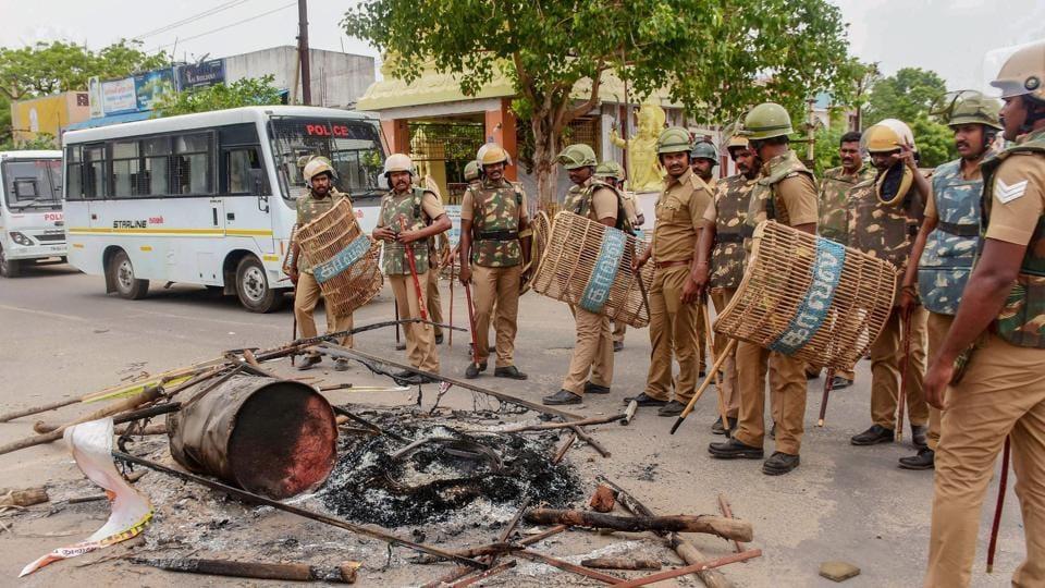 Anti Sterlite protests,Madras high court,Police firing anti Sterlite protesters