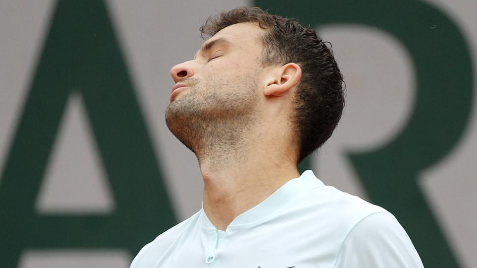 Bulgaria's Grigor Dimitrov was ousted by Spain's Fernando Verdasco at the third round match of the French Open tennis tournament.