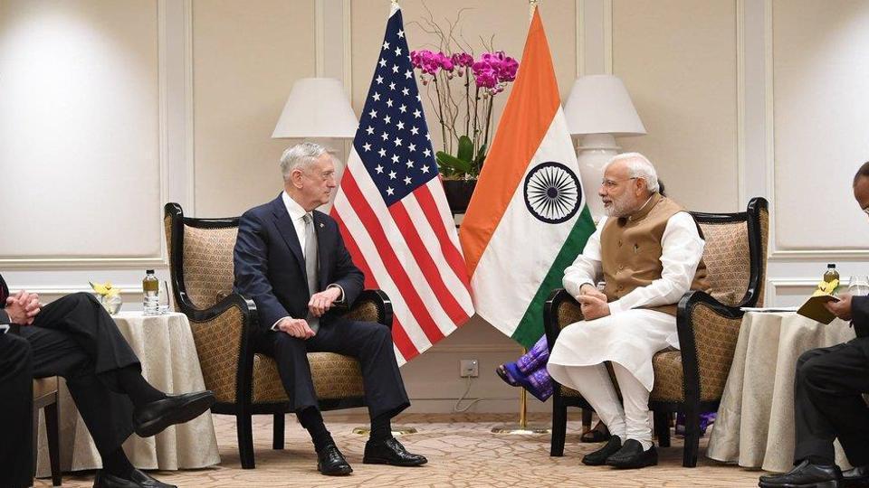 Narendra Modi,Modi in Singapore,Jim Mattis