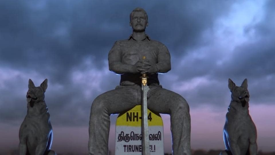 In Saamy Square, Vikram will return as the hot-headed and foul-mouthed cop Aarusaamy.