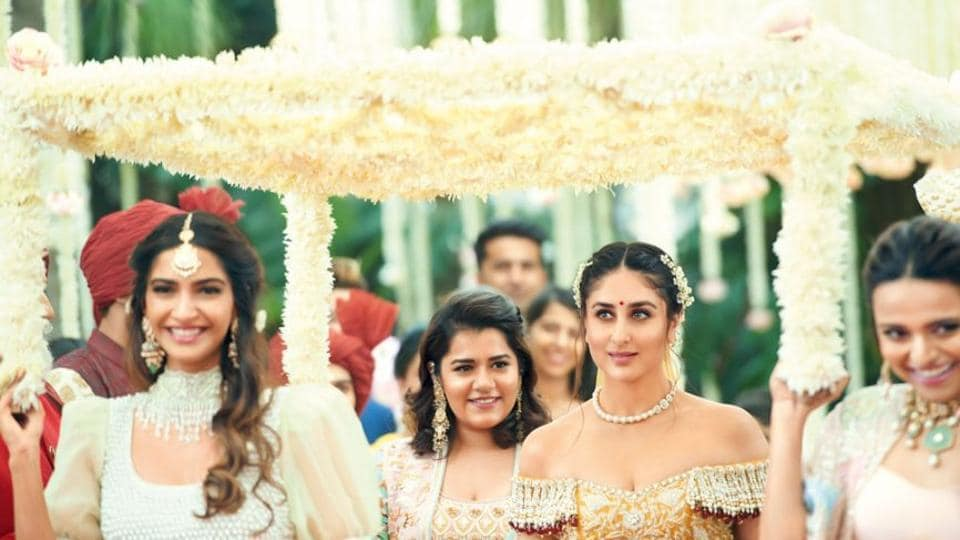 65937a0e91 If you're searching for wedding lehenga inspiration, we'd like to point you  in the direction of Kareena Kapoor Khan's Veere Di Wedding bridal lehenga.