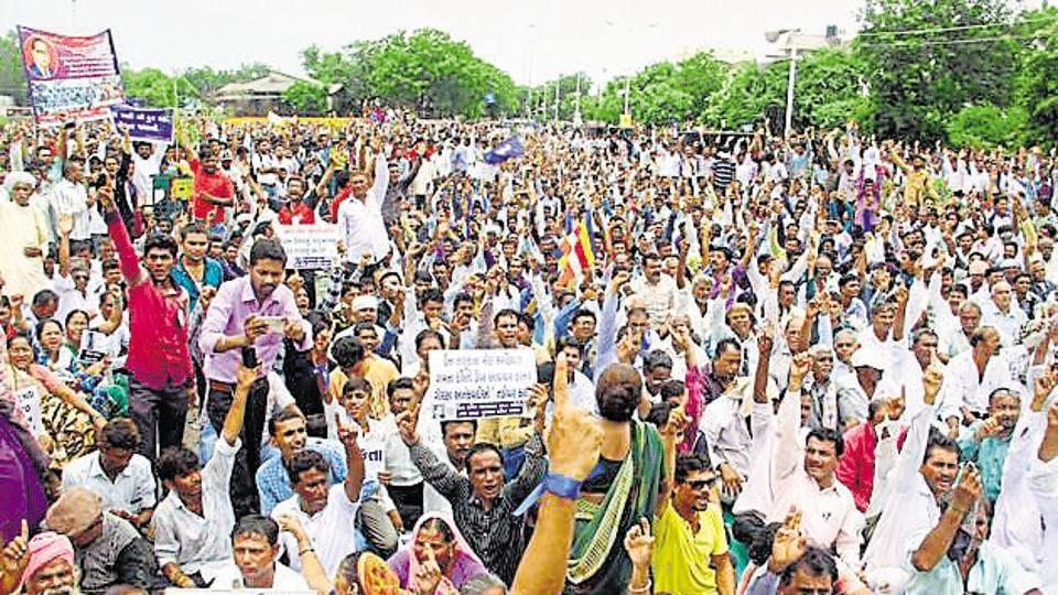 Gujarat Dalits,Una flogging,Dalit community