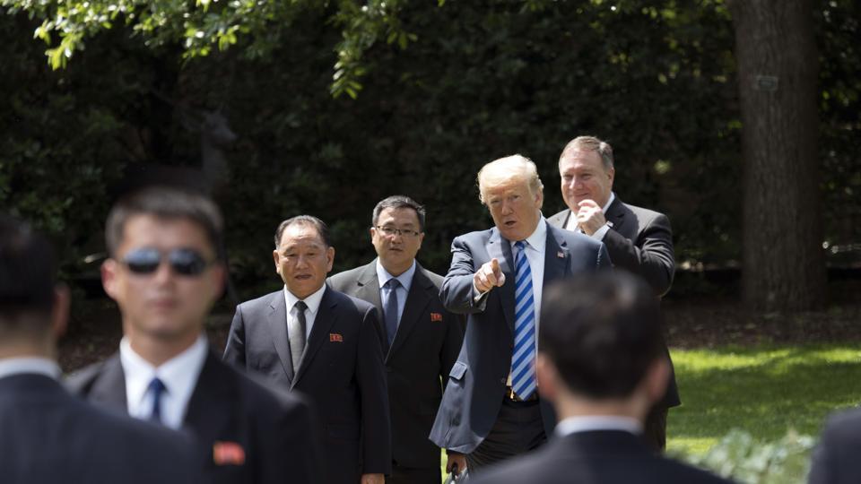 Kim Jong Un,Donald Trump,Kim Jong Un's letter