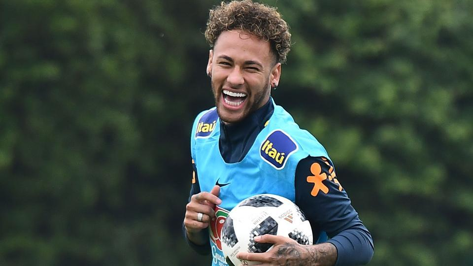 Neymar, who scored four goals in the 2014 FIFA World Cup, has not played any form of football since February after breaking his foot.