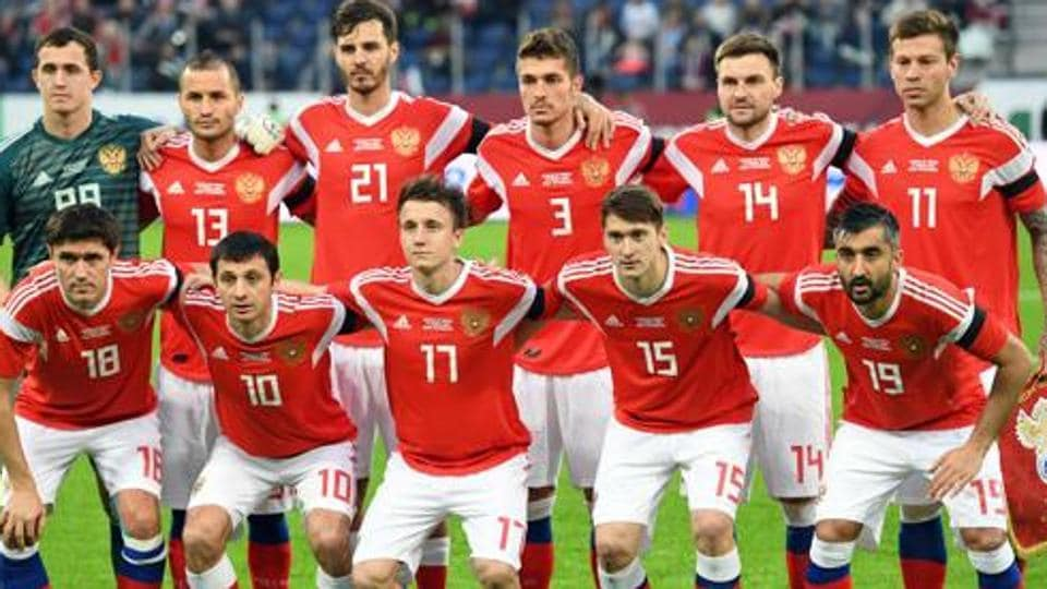 Russia qualified as hosts for 2018 FIFA World Cup.