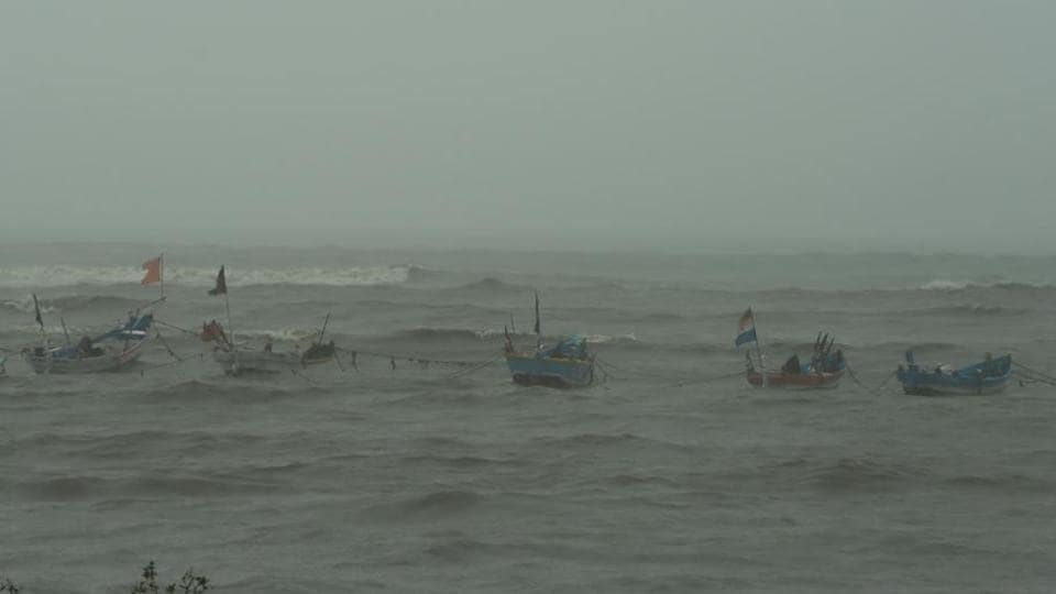 Although there is a ban on fishing in the Bay of Bengal between April 15 and June 14, fishermen who own small fibreglass boats have nonetheless been venturing into the sea.