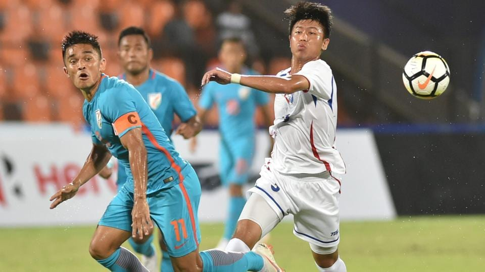 Intercontinental Cup 2018,India vs Chinese Taipei,Indian football team