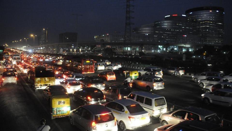Gurugram,Gurgaon,Night police