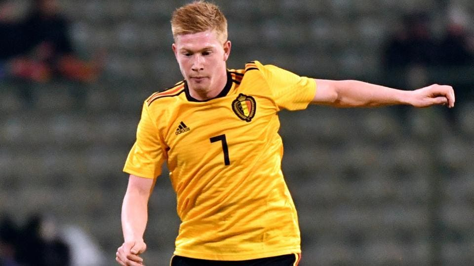 Kevin De Bruyne will be looking to provide his credentials for Belgium at the FIFA World Cup 2018.