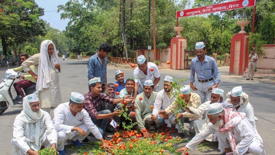 Farmer Protest,Mandsaur,10-day nationwide protes