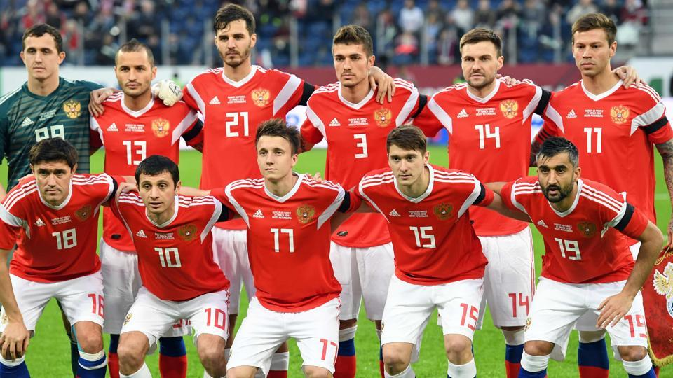 Russia announced their 23-man squad for the FIFA World Cup 2018 on Sunday.