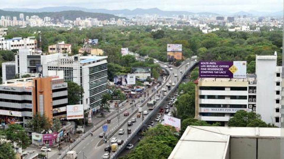 Pune,SPPU,multilayer flyover