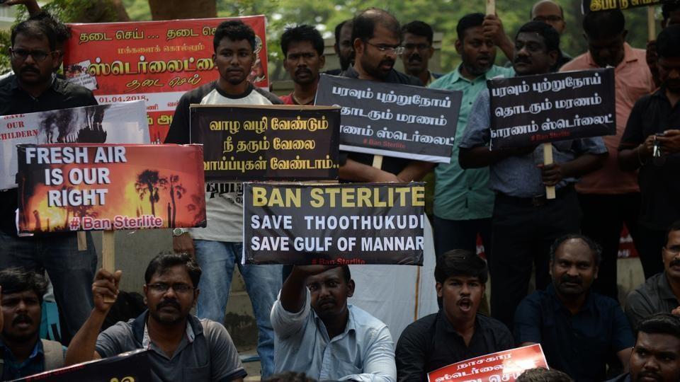 Anti-Sterlite protests,Tamil Nadu,Thoothukudi